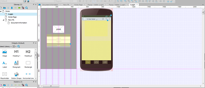 How to Simulate an app on android device for PC - Axure RP - Axure ...