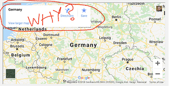 Embed Google Map Without White Panel Overlay - Tips, Tricks, and ...